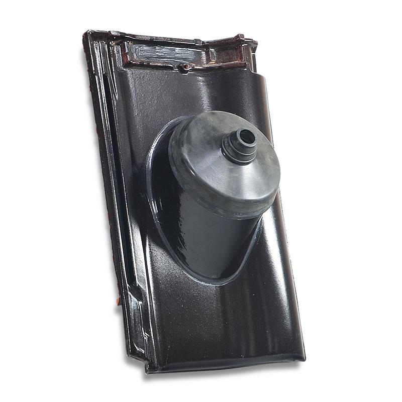Fleck Antennenziegel PVC für Nelskamp DS 5
